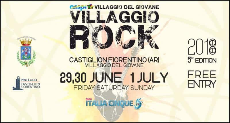 Villaggio Rock di Castiglion Fiorentino: la svolta
