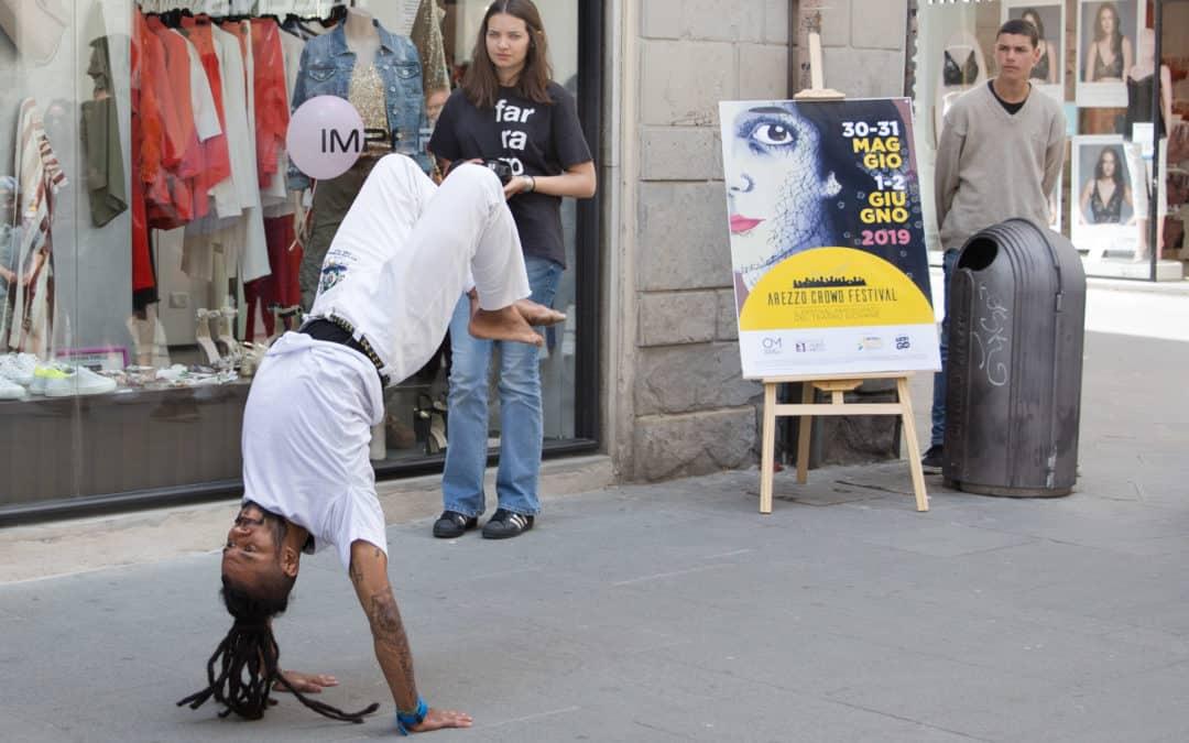 Canti, musica, e acrobazie: la Capoeira di Cordão de Ouro ad Arezzo